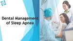 Dental Management of Sleep Apnea (Online Course)