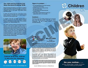 Children & Sleep Apnea Tri-Fold (100)