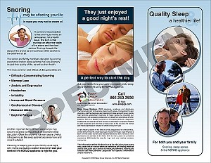 Quality Sleep Tri-Fold (100)